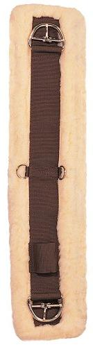 Weaver Leather Fleece Lined Super Cinch, Brown/Maize, 32-