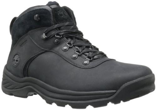 Timberland Men's Flume Waterproof Boot,Black,14 M US