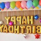 "13Pcs ""HAPPY BIRTHDAY"" Letters Foil Balloons For Birthday"