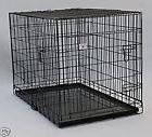 """Extra Large 48"""" Folding Pet Dog Cat Crate Cage Kennel With"""