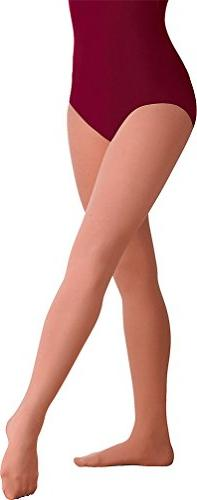 Body Wrappers Footed Tights, Stage Tan, Medium/Large