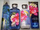 4 Pc Bath & Body Works Freesia Gift Set- Lotion, Body Cream