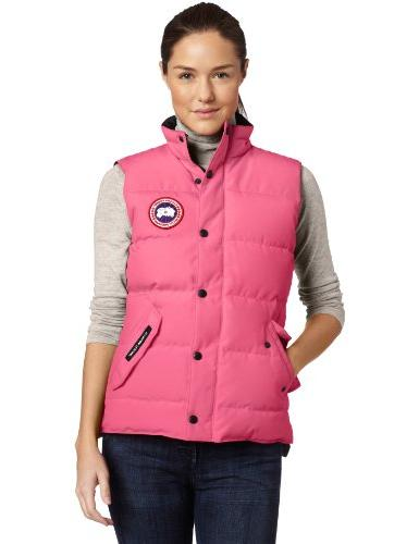Canada Goose chateau parka online official - Green Womens Vests | Searchub