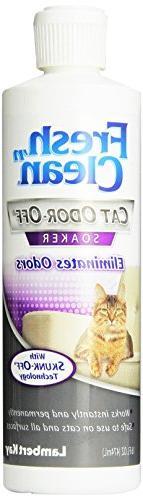 Lambert Kay Fresh 'n Clean Cat Odor Off Soaker, 16-Ounce
