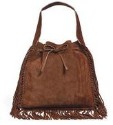 Polo Ralph Lauren Fringed Suede Sling Bag