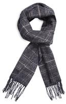"Saint Laurent Fringed Wool Scarf, 66"" x 12"
