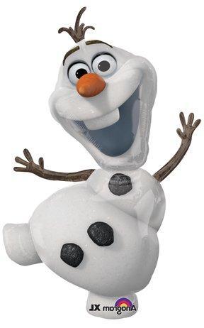 Frozen Olaf Purple 6th Disney Movie BIRTHDAY PARTY Balloons