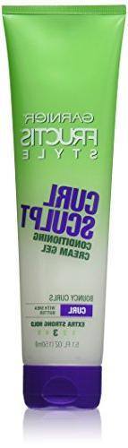 Garnier Fructis Style Curl Sculpt Conditioning Cream Gel 5