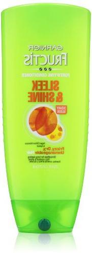 Garnier Fructis Sleek & Shine Conditioner, 25.4 Fluid Ounce