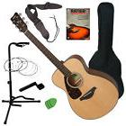 Yamaha FS800 Acoustic Guitar Bundle With Hard Case &