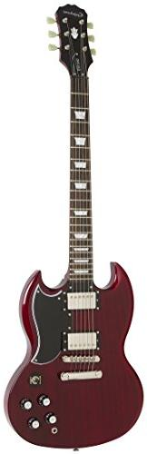 Epiphone G-400 Pro Electric Guitar with Coil-Tapping, Cherry
