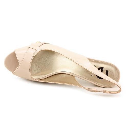 G By Guess Cabelle 2 Womens Size 11 Nude Peep Toe Platforms