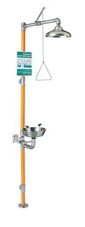 Guardian G1996 Safety Station with Eye/Face Wash, Stainless