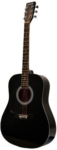 Huntington GA41PS-BK  Acoustic Guitar Dreadnaught Steel