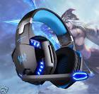 LED Gaming Headset Surround Stereo Headband Headphone with
