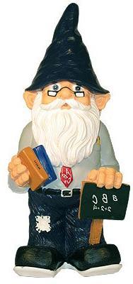 11.5- Inch Garden Gnome - Teacher