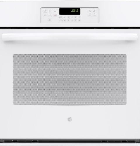 """GE JT3000DFWW 30"""" White Electric Single Wall Oven"""
