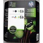 2-PACK HP GENUINE 63XL Black & Tri-Color Ink  OFFICEJET 4654