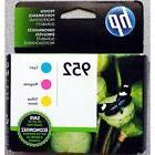 3-PACK HP GENUINE 952 Color Ink  OFFICEJET PRO 8710 8720