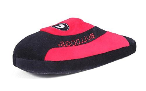 Happy Feet - Georgia Bulldogs - Low Pro Slippers - Large