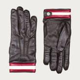 Bally GLOVES Men's leather gloves in Brown