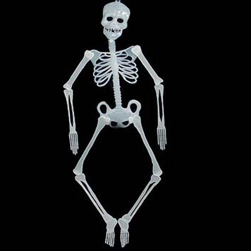 Glow In The Dark Skeleton Halloween Hanging Decoration - 36