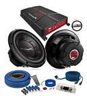 "Pioneer GM-A5702 Amplifier w/ 2 TS-W256R 10"" Subwoofers &"