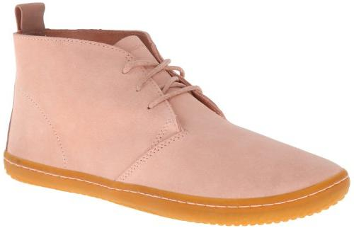 Vivobarefoot Women's Gobi Dusty Pink Suede Boot 40  B -