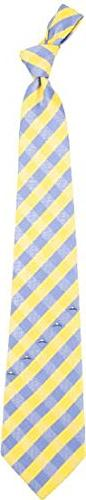 Golden State Warriors Check Poly Necktie