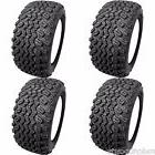 Golf Cart Tires Set of 4- 20x10.00-10 Desert Fox 4-Ply Club