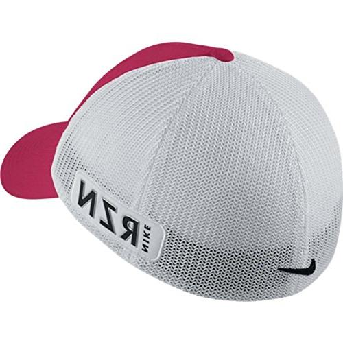 Nike GOLF TOUR FLEX-FIT CAP new logo TURF ORANGE/WHITE S/M