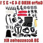 GoPro HERO 5 4 3+ 3 2 1 38 Accessories Kit Shockproof