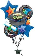 Grad Celebration Balloon Bouquet