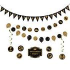 Graduation Banner Garland Bunting Party Kit Wall Stickers