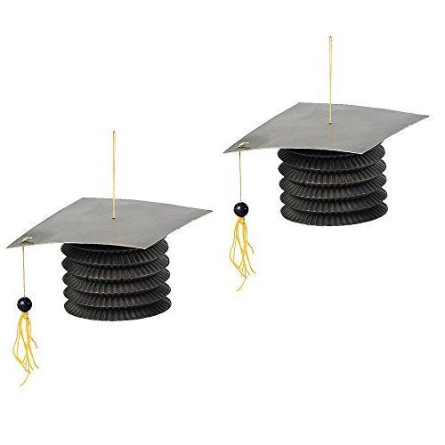 Graduation Paper Party Lanterns - Set of 12