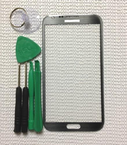 Gray Replacement Screen Glass Lens for Samsung Galaxy Note 2
