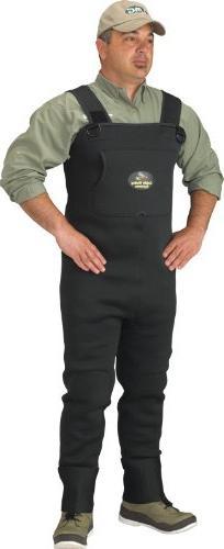 Caddis Men's Green Neoprene Stocking Foot Wader, Medium