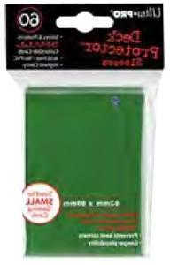 Small Green Sleeves  by Ultra Pro