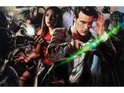 Greg Horn Signed Matt Smith & Karen Gillian 11x17 Doctor Who