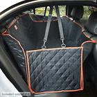 Grey Dog Seat Large Back Pet Cover Hammock Suvs Nonslip Side