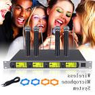 GTD Audio 4x 800 Channel UHF Diversity Wireless Handheld
