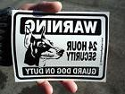 Guard Dog Window/Door Stickers  - Free Shipping