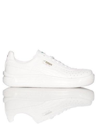 PUMA GV Special JR Sneaker , White/White, 13.5 M US Little