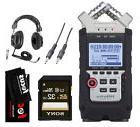 Zoom H4N PRO Four-Track Handy Audio Recorder with Headphones