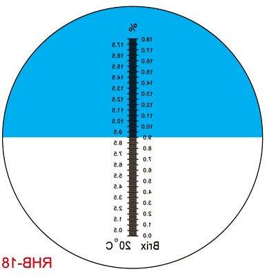 Sinotech Hand Held Brix 0-18% Cutting Liquid Refractometer
