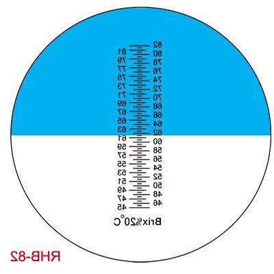 Sinotech Hand Held Fruit Suger 45-82% Refractometer Brixrhb-