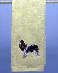 Hand Towel: Cavalier King Charles