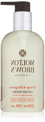 Molton Brown Hand Wash, Orange and Bergamot, 10 fl. oz
