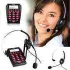 AGPtek Hands-free Call Center Noise Cancellation Corded