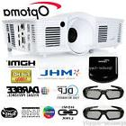 Optoma HD28DSE 1080p 3D DLP Home Theater Gaming Projector +